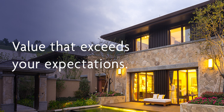 Value that exceeds your expectations.